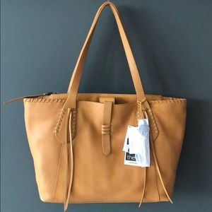🆕 THE SAK Heritage Leather Tote NWT